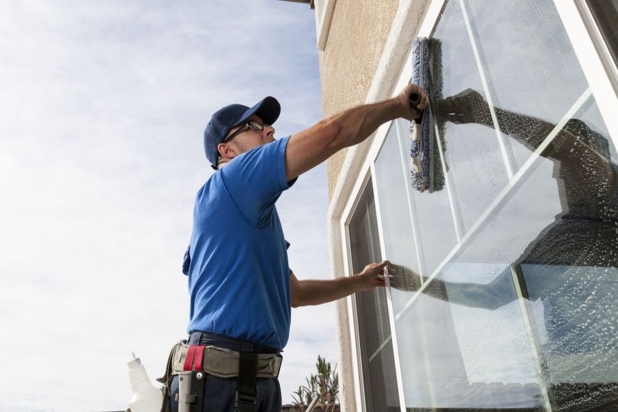 Commercial Window Cleaning by Healthy Cleaning Services LLC